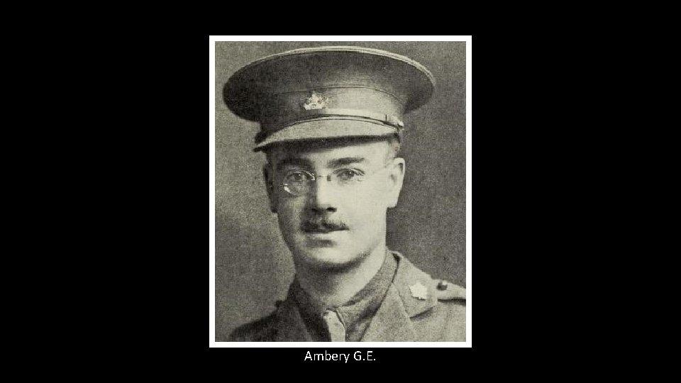 Ambery G. E.