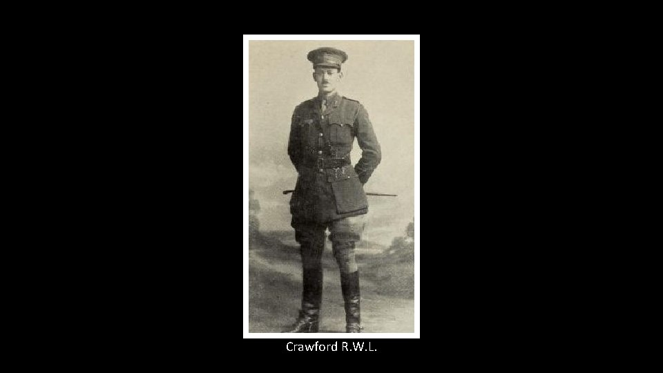 Crawford R. W. L.