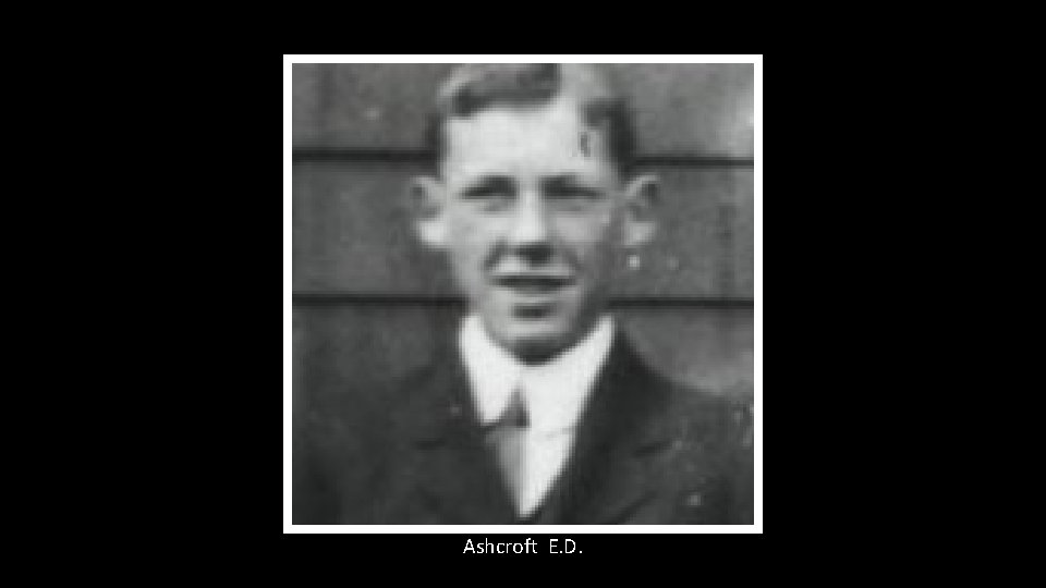 Ashcroft E. D.