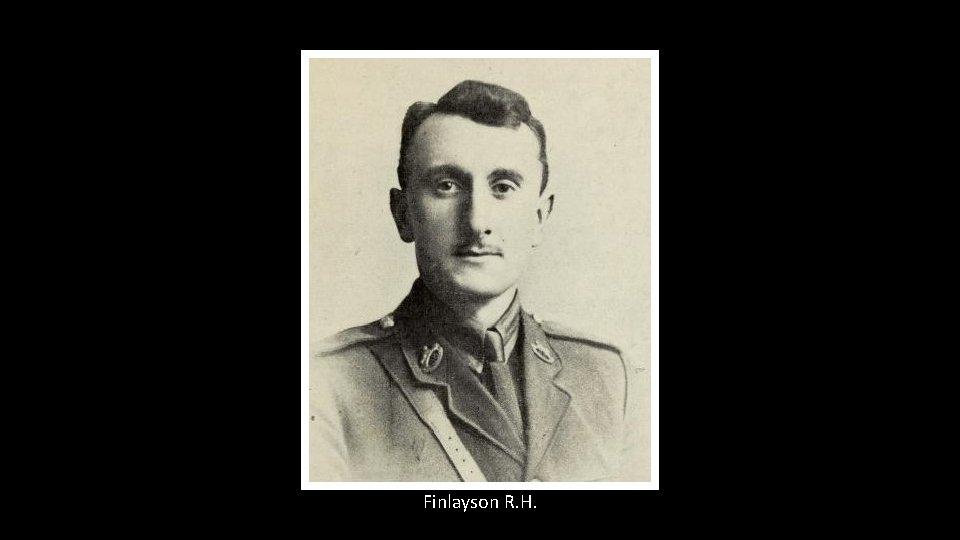 Finlayson R. H.