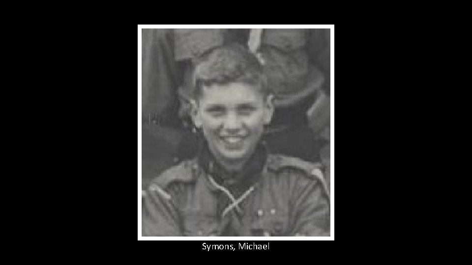 Symons, Michael