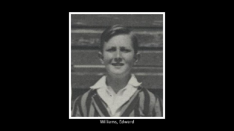 Williams, Edward