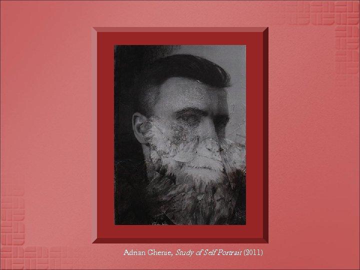 Adrian Ghenie, Study of Self Portrait (2011)