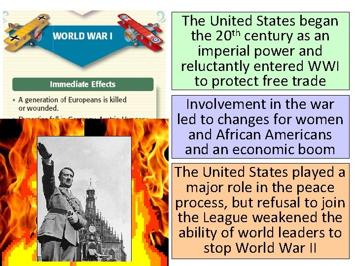 The United States began the 20 th century as an imperial power and reluctantly