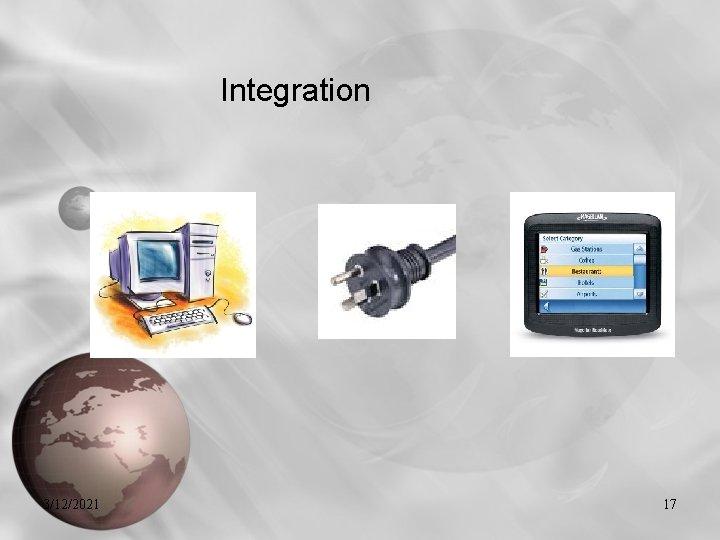 Integration 3/12/2021 17
