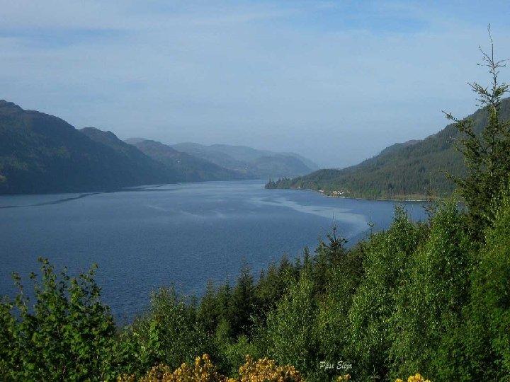 El lago Ness forma parte de la serie de lagos de Escocia que fueron