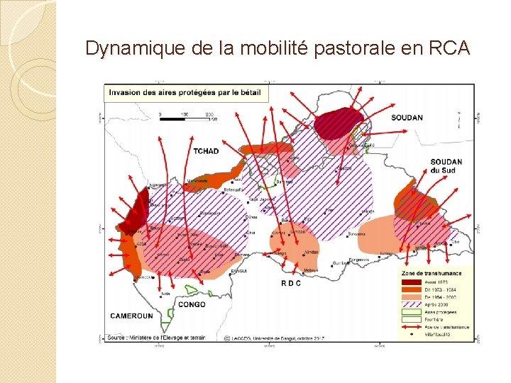 Dynamique de la mobilité pastorale en RCA