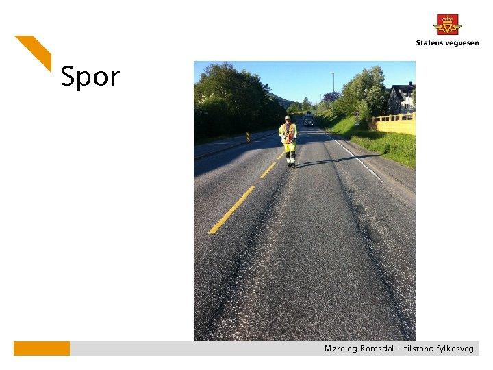Spor Møre og Romsdal - tilstand fylkesveg