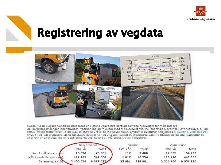 Registrering av vegdata