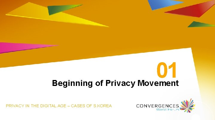 01 Beginning of Privacy Movement PRIVACY IN THE DIGITAL AGE – CASES OF S.
