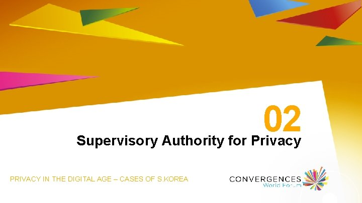 02 Supervisory Authority for Privacy PRIVACY IN THE DIGITAL AGE – CASES OF S.