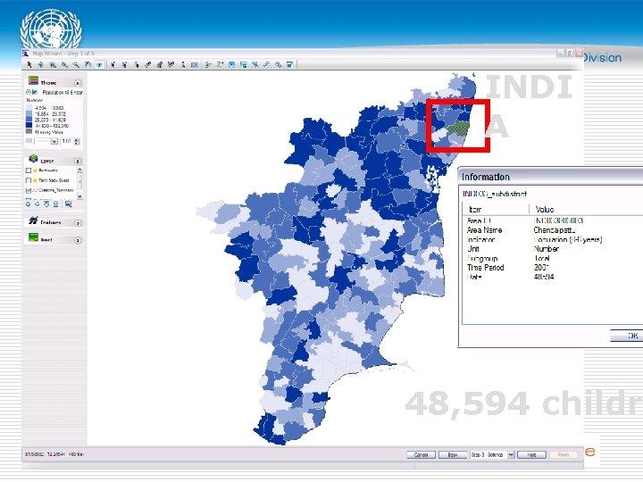 INDI A 48, 594 childr