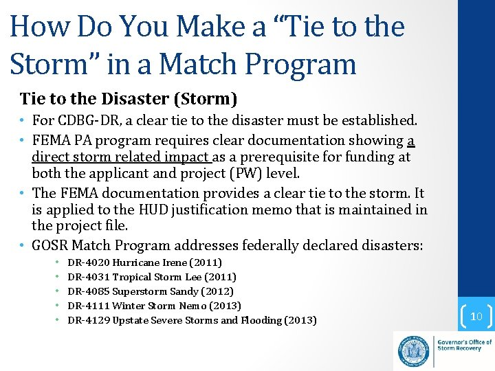 """How Do You Make a """"Tie to the Storm"""" in a Match Program Tie"""