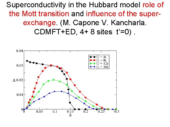 Superconductivity in the Hubbard model role of the Mott transition and influence of the
