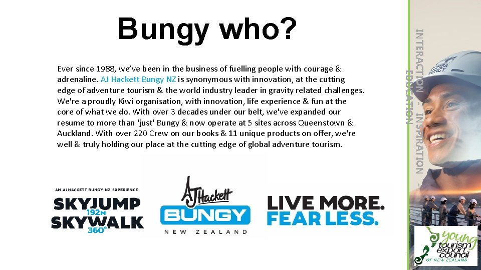 Ever since 1988, we've been in the business of fuelling people with courage &