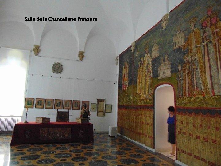 À l'époque de Brancoveanu, la culture et les arts ont connu une floraison Salle