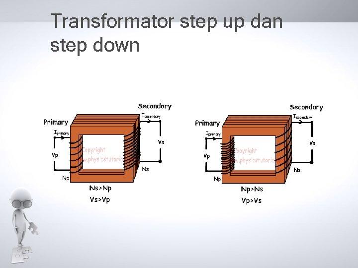 Transformator step up dan step down