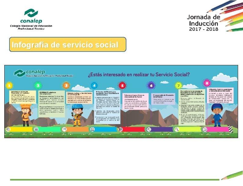 Infografía de servicio social