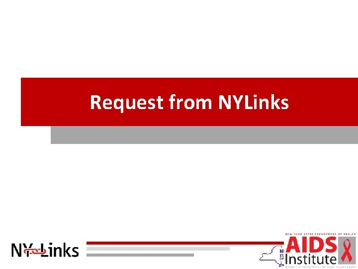 Request from NYLinks