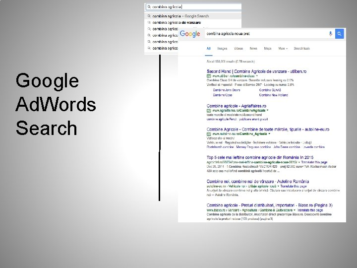 Google Ad. Words Search