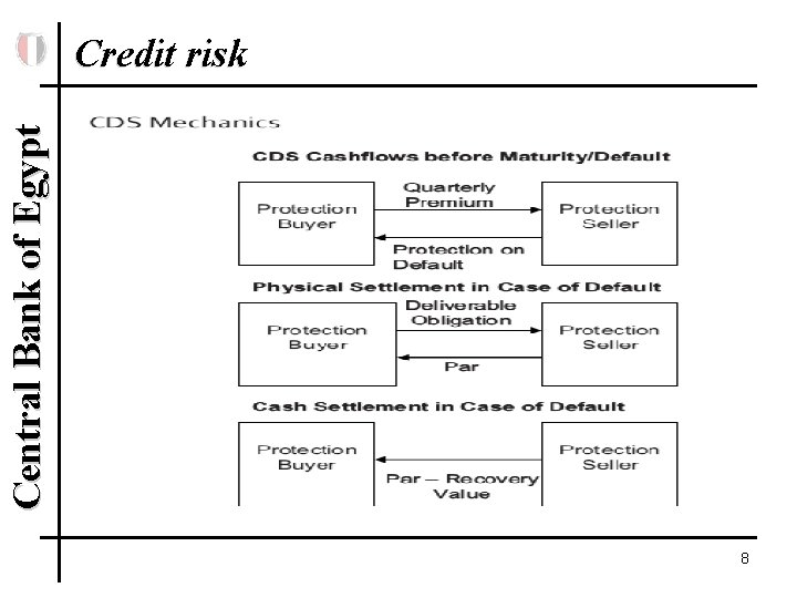 Central Bank of Egypt Credit risk 8