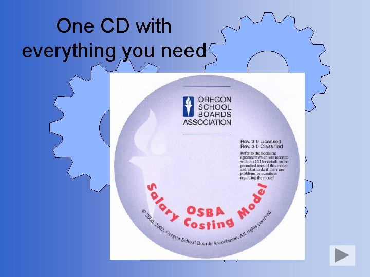 One CD with everything you need