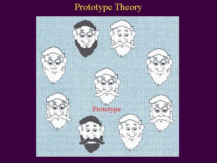 Prototype Theory Prototype
