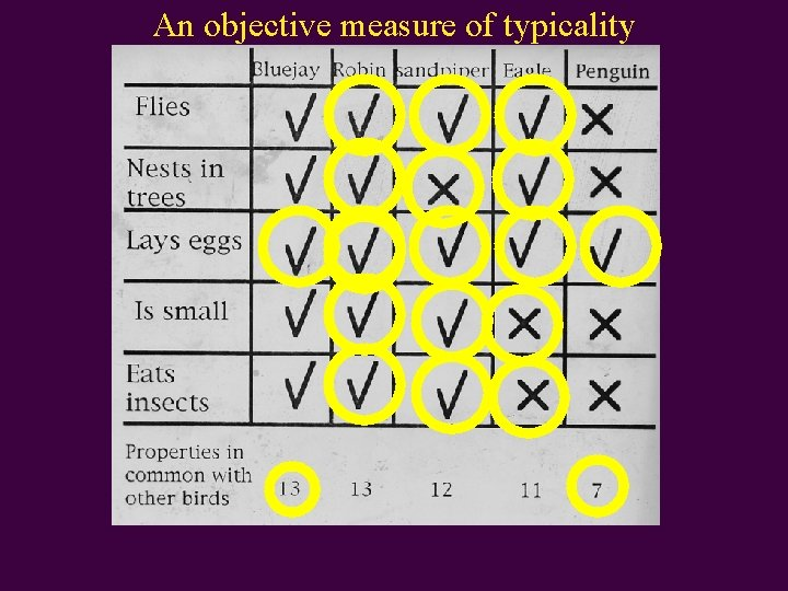 An objective measure of typicality