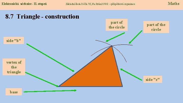 Elektronická učebnice - II. stupeň Maths Základní škola Děčín VI, Na Stráni 879/2 –
