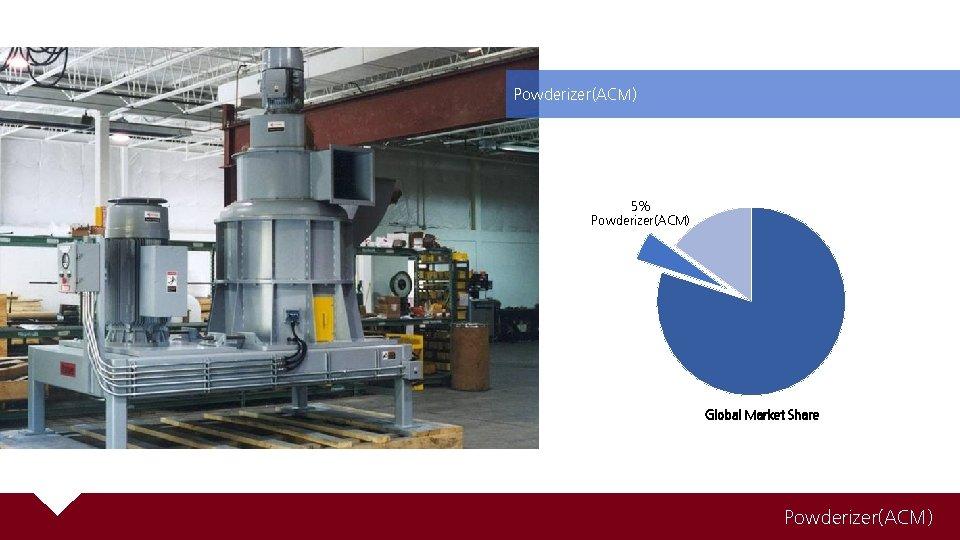 Powderizer(ACM) 5% Powderizer(ACM) Global Market Share Powderizer(ACM)