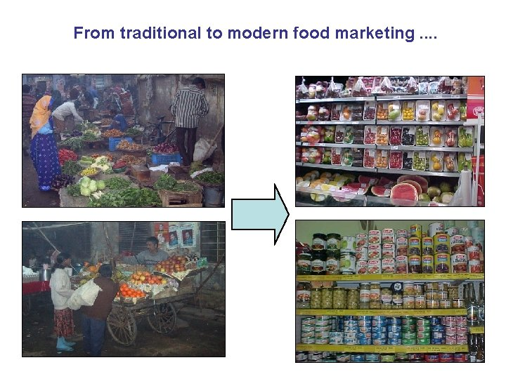 From traditional to modern food marketing. .