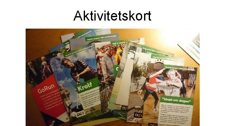Aktivitetskort
