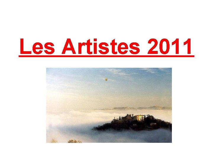 Les Artistes 2011
