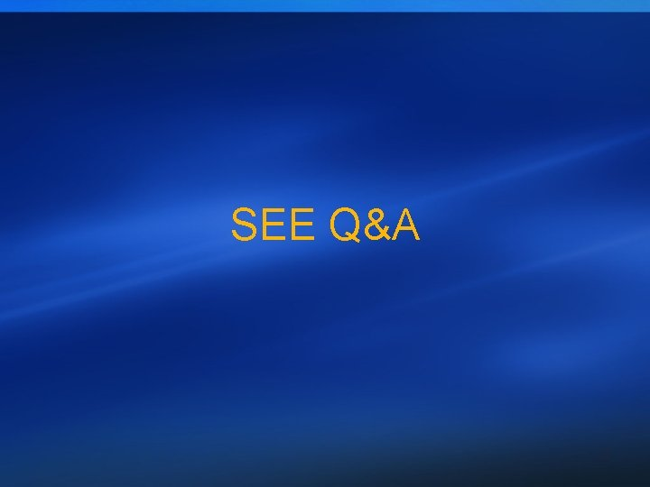 SEE Q&A 15