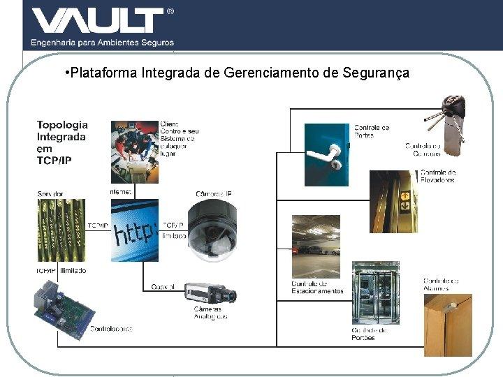• Plataforma Integrada de Gerenciamento de Segurança 16 Access Control © 2007 Biocheck