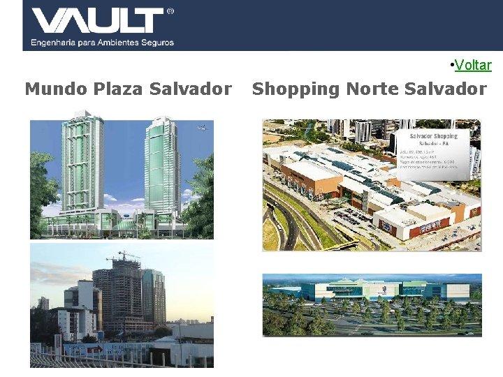 • Voltar Mundo Plaza Salvador 43 Access Control © 2007 Biocheck All rights