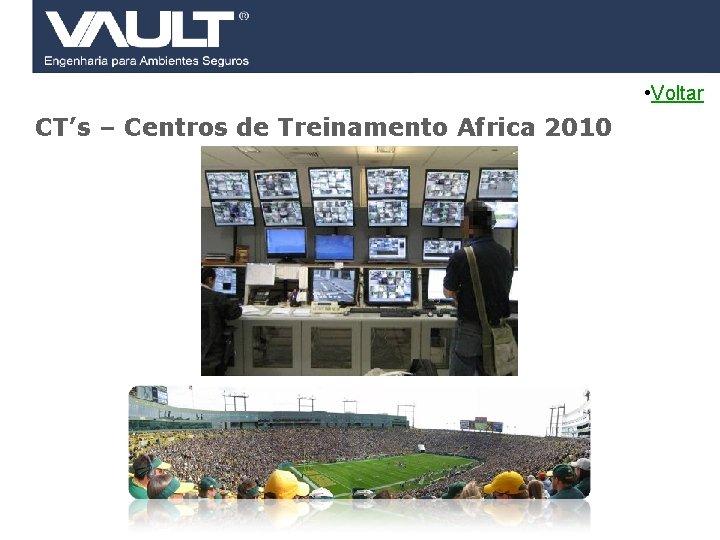 • Voltar CT's – Centros de Treinamento Africa 2010 45 Access Control ©