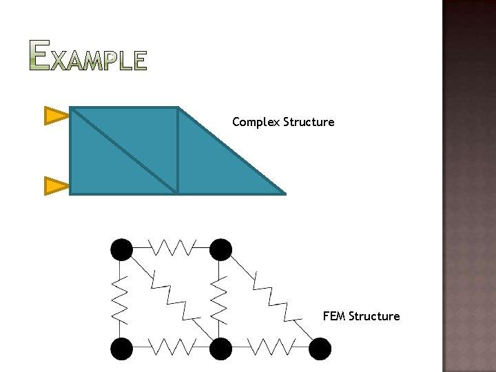 Complex Structure FEM Structure