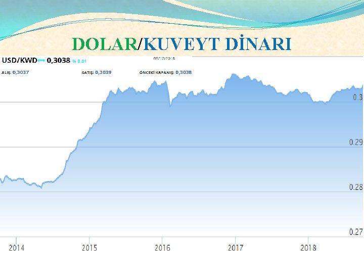 DOLAR/KUVEYT DİNARI