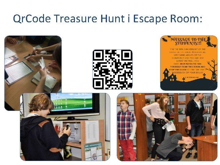 Qr. Code Treasure Hunt i Escape Room: