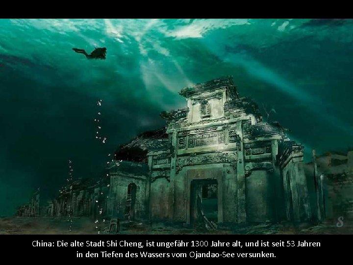 China: Die alte Stadt Shi Cheng, ist ungefähr 1300 Jahre alt, und ist seit
