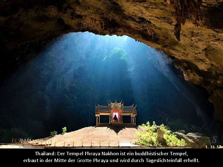 Thailand: Der Tempel Phraya Nakhon ist ein buddhistischer Tempel, erbaut in der Mitte der