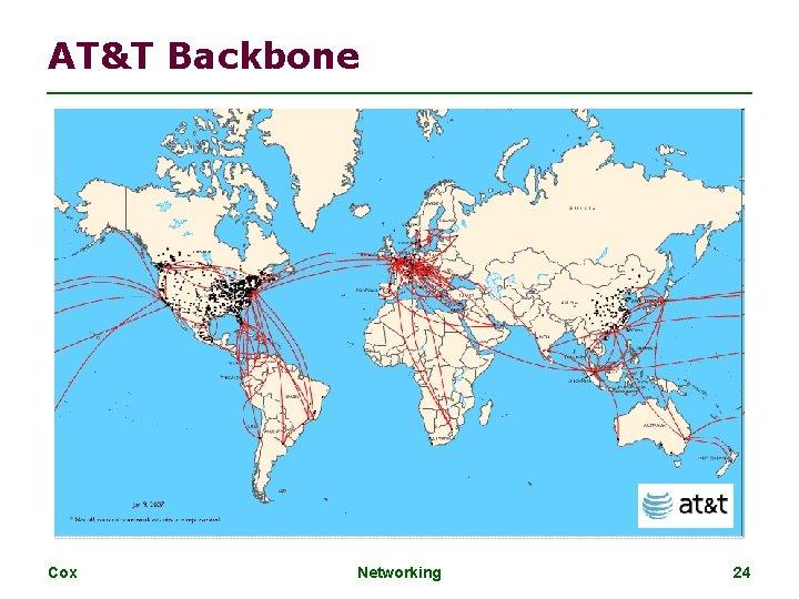 AT&T Backbone Cox Networking 24