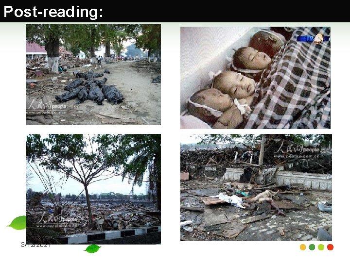 Post-reading: 3/12/2021