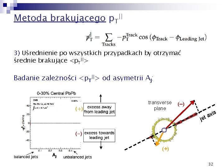 Metoda brakującego p. T|| 3) Uśrednienie po wszystkich przypadkach by otrzymać średnie brakujące <p.