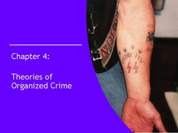 Chapter 4: Theories of Organized Crime
