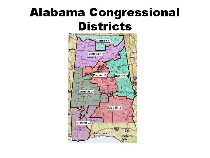 Alabama Congressional Districts