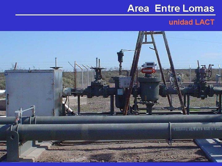 Area Entre Lomas unidad LACT