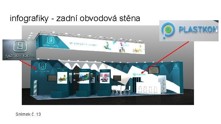infografiky - zadní obvodová stěna Snímek č. 13