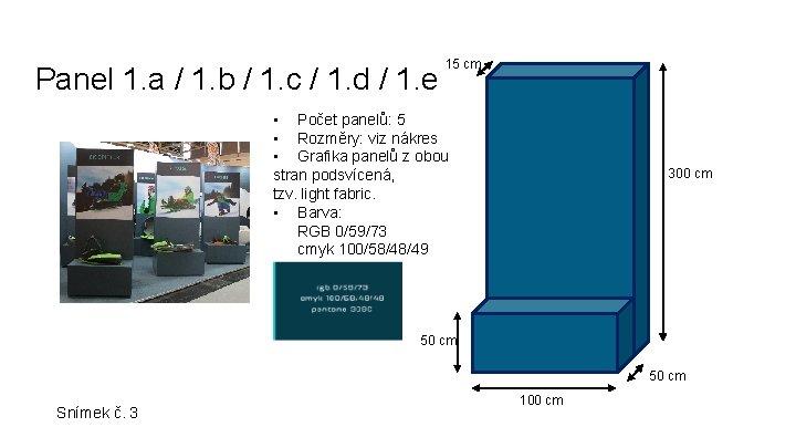 Panel 1. a / 1. b / 1. c / 1. d / 1.